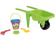 Детская тележка Гигант с набором для песка Y - 78