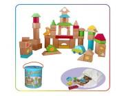 Деревянные детские кубики JU - 2309