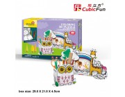 3D PUZZLE Owl Pen Holder & Giraffe Photo Frame