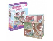 3D PUZZLE Dollhouse - Pianist's Home