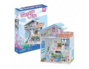 3D PUZZLE Dollhouse - Seaside Villa