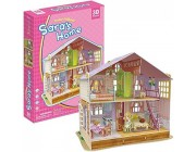 3D PUZZLE Dream Dollhouse - Sara's Home