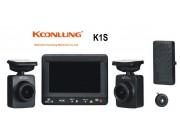 Видео регистратор KOONLUNG K1S GPS 2 камеры