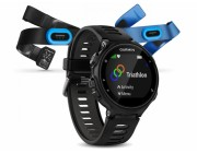 Forerunner 735XT Tri Bundle Black/Gray Includes :- HRM-Tri™, HRM-Swim