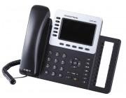 IP телефон Grandstream GXP2160, 6 SIP линий, 2 порта Gigabit интернет, PoE, Bluetooth, USB