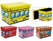 Контейнер для хранения игрушек Автобус 49X31X31cm