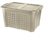 Коробка с крышкой Arianna 123l, 79X55Х45 cm