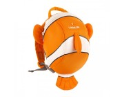Детский рюкзак НЕМО little life Clownfish Toddler Backpack with Rein