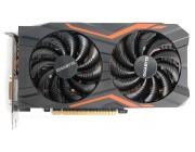 Gigabyte GV-N105TG1 GAMING-4GD 1.0 (GeForce GTX 1050 Ti 4G DDR5 )¶GF GTX1050 Ti ,4GB DDR5, 128bit, Engine 1480/1506MHz, Memory 7008 Mhz,,Active Cooling,DVI-D*1,DisplayPort 1.4*1,HDMI 2.0b,*3,H=40 L=219 W=118 mm power, 6 pin*1