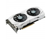 ASUS DUAL-GTX1060-O6G NVIDIA GeForce GTX 1060,4GB DDR5, Engine 1228/1291MHz, OC MODE 1253/1317MHz, Memory 7010MHz, Active  Cooling STRIX Extremely Silent ,DVI-I ,HDMI,3xDP