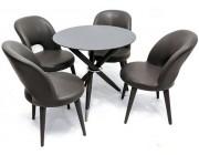 Комплект для столовой Deco Rondo Black