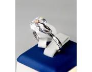 Кольцо «Блестящий камушек»