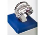 Кольцо «Блестящие ниточки»