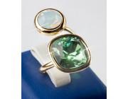 Кольцо «Блестящая восьмерка»