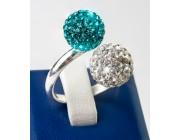 Кольцо «Два шарика»