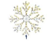 """Световая фигура """"Снежинка"""" LED, D58сm, цвет тепло-белый"""