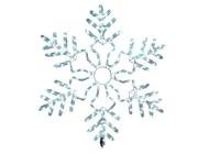 """Световая фигура """"Снежинка"""" LED, D85сm, цвет белый"""