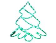 """Световая фигура """"Елка"""" LED, 47X40сm, цвет зеленый"""