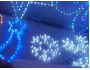 """Световая фигура """"Снежинка"""" 69LED 38cm, белый цвет"""