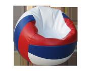 """Кресло - мешок """"Футбольный мяч"""" """"Волейбольный  мяч"""" medium (h - 40, d - 78 см) Разные цвета"""