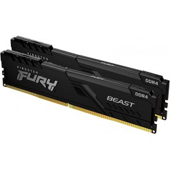 32GB (Kit of 2*16GB) DDR4-3200 Kingston HyperX® Predator DDR4 RGB, PC25600, CL16, 1.35V, BLACK heat spreader, Dynamic RGB effects featuring HyperX Infrared Sync technology, Intel XMP Ready (Extreme Memory Profiles)
