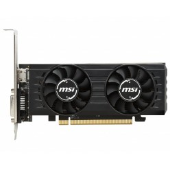 MSI Radeon RX 550 2GT LP OC / 2GB GDDR5 128Bit 1203/6000Mhz, DVI-D, HDMI, Dual Fans - Thermal Design, Military Class 4 (MIL-STD-810G), Gaming App, Low Profile, Retail