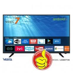 Smart TV 100cm VESTA LD40D772S/IPTV Ready WIFI + 50 каналов бесплатно