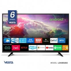 SMART  TV Vesta LD43E6202 FHD DVB-T/T2/C AndroidTV 9.0