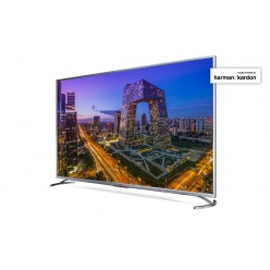 "55"" LED TV SHARP LC-55UI8762ES, Silver, 3840x2160 (4K), SmartTV (Aquos NET+), Wifi+Lan, Active Motion 800, Wide Color Gamut, HDR, ACE PRO ULTRA Engine"