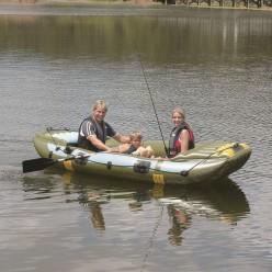 Надувная лодка BestWay Neva III 65008